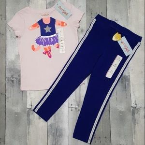 NWT Cat & Jack 2-Piece Outfit